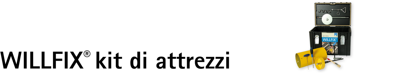 WILLFIX kit attrezzi